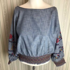 NWT Gap Embroiled Top.